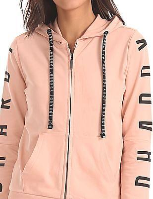 EdHardy Women Regular Fit Hooded Sweatshirt