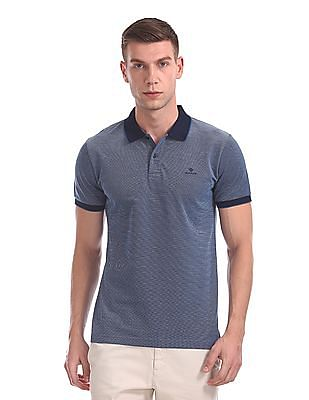 Gant Oxford Pique Short Sleeve Rugger Polo