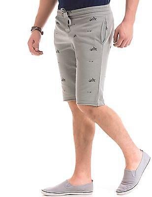Ed Hardy Printed Slim Fit Shorts