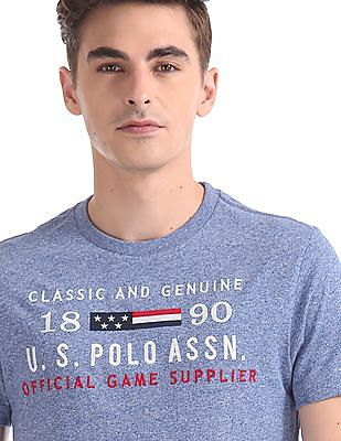 U.S. Polo Assn. Regular Fit Embroidered Front T-Shirt