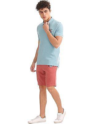 U.S. Polo Assn. Denim Co. Regular Fit Heathered Knit Shorts