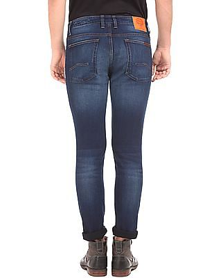 Ed Hardy Whiskered Slim Fit Jeans