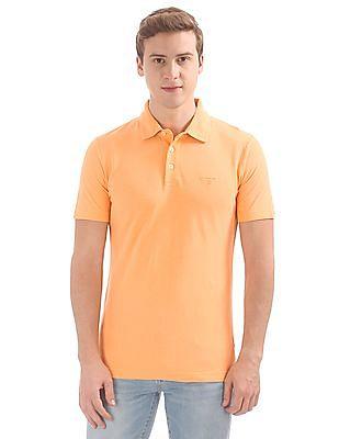 Gant Linen Mix Pique Short Sleeve Rugger Polo