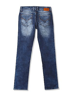 Flying Machine Michael Super Slim Tapered Fit Mid Rise Jeans
