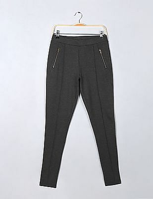 GAP Zipper Pocket Ponte Pants