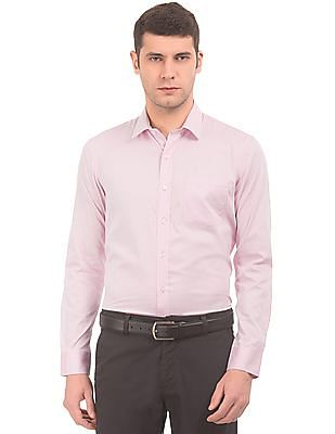 Arrow Solid Slim Fit Shirt