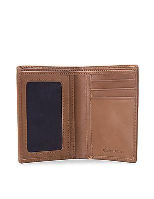 U.S. Polo Assn. Leather Bi-Fold Wallet