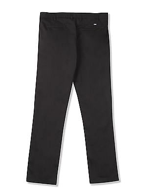 Arrow Sports tapered Fit Solid Trousers