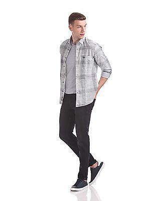 U.S. Polo Assn. Denim Co. Brandon Slim Tapered Stone Wash Jeans
