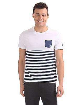 Bayisland Standard Fit Striped T-Shirt