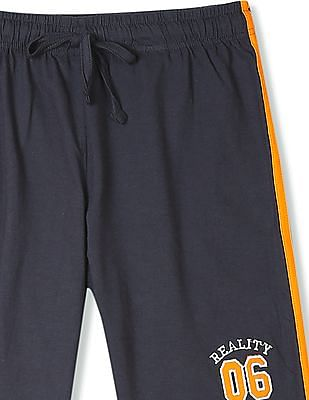 Day 2 Day Boys Contrast Tape Knit Shorts