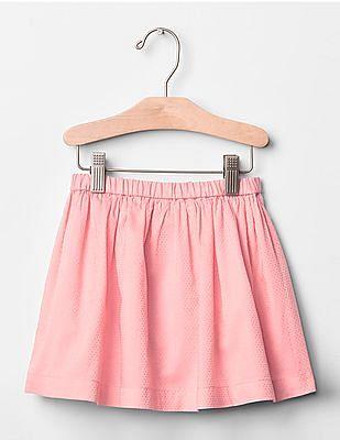 GAP Baby Pink Polka Dot Flippy Skirt