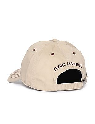 Flying Machine Embroidered Cotton Cap