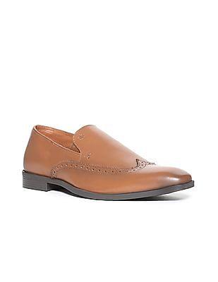 Arrow Wingtip Slip On Shoes