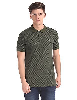 Ruggers Short Sleeve Printed Polo Shirt