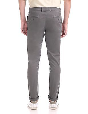 Roots by Ruggers Slim Fit Twill Trousers