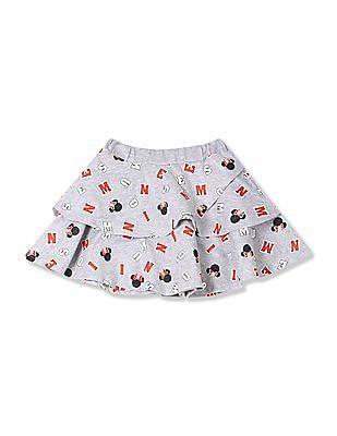 Colt Girls Printed Layered Skirt