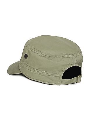 Flying Machine Embroidered Cotton Twill Cap