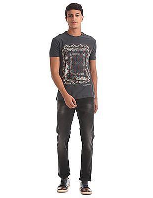 Ed Hardy Short Sleeve Printed T-Shirt