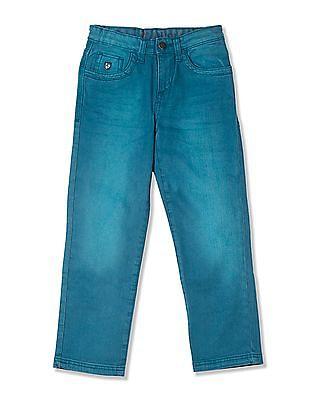 U.S. Polo Assn. Kids Boys Standard Fit Rinsed Jeans