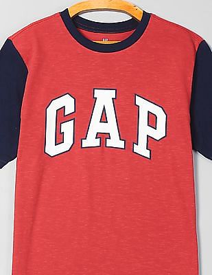 GAP Boys Crew Neck Logo T-Shirt
