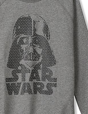 GAP Boys Grey Star Wars™ Graphic Crew Neck Sweatshirt
