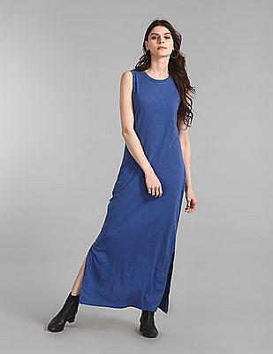 GAP Slub Knit Maxi Dress