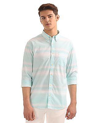 Aeropostale Regular Fit Striped Shirt