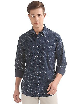 Aeropostale Printed Regular Fit Shirt