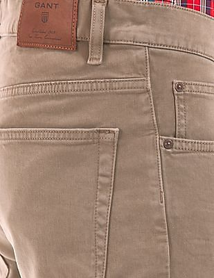 Gant Low Rise Narrow Fit Jeans