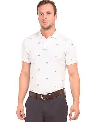 U.S. Polo Assn. Slim Fit Embroidered Polo Shirt