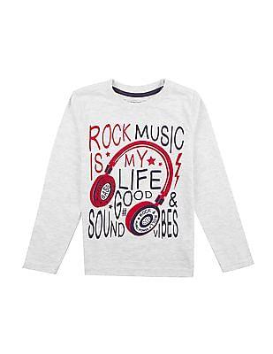 ac3872a0 Buy Boys Boys Printed Long Sleeve T-Shirt online at NNNOW.com