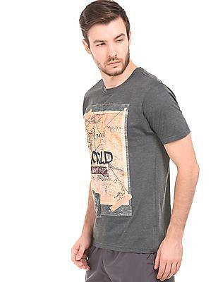 Newport Graphic Print Heathered T-Shirt