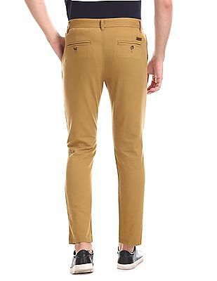 Ruf & Tuf Flat Front Solid Chinos