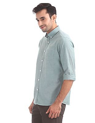 Arrow Sports Slim Fit Button Down Collar Shirt