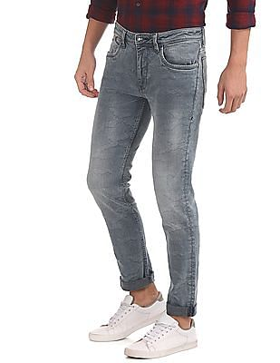 Ed Hardy Slim Fit Rags Wash Jeans