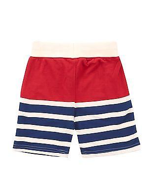 U.S. Polo Assn. Kids Boys Striped Knit Shorts