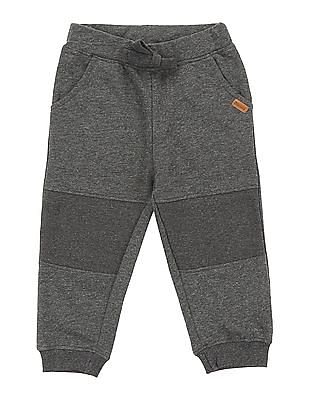 Donuts Boys Panelled Knit Joggers