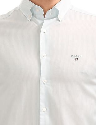 Gant Tech Prep Oxford Stripe Regular Button Down Shirt