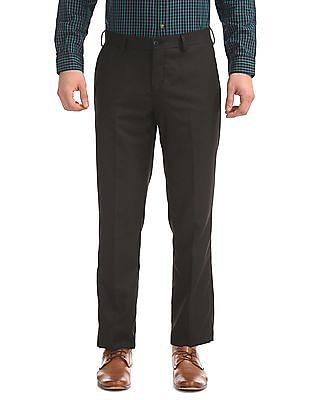 Excalibur Classic Fit Textured Trousers