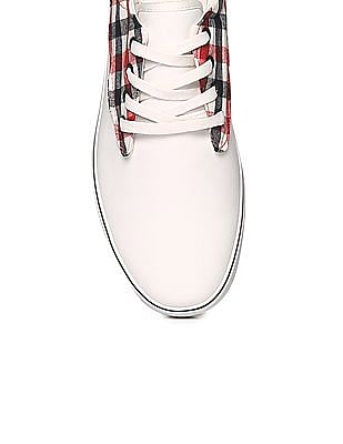 U.S. Polo Assn. Contrast Overlay Lace Up Sneakers