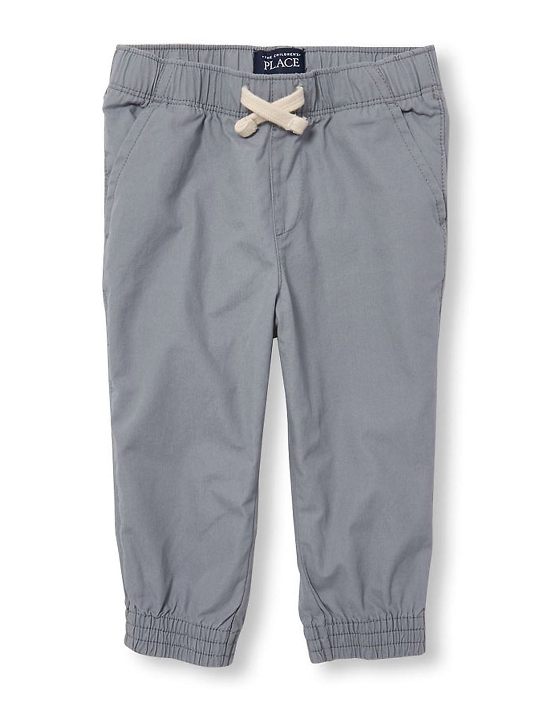The Childrens Place Boys Solid Jogger Shorts