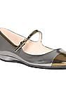 Cole Haan Cap Toe Patent Leather Mary Janes