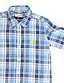 U.S. Polo Assn. Kids Boys Button Down Check Shirt