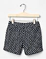 GAP Girls Print Midi Shorts
