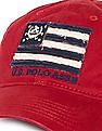 U.S. Polo Assn. Brand Applique Panelled Cap