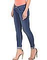 U.S. Polo Assn. Women Mid Rise Stone Wash Jeggings
