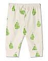 GAP Baby Organic Fruit Banded Pants