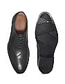 Arrow Wingtip Leather Brogue Shoes