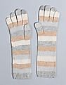 GAP Crazy Stripe Merino Wool Blend Mittens